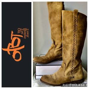 """OTBT """"Off The Beaten Track"""" Suede Putney Boots 9.5"""